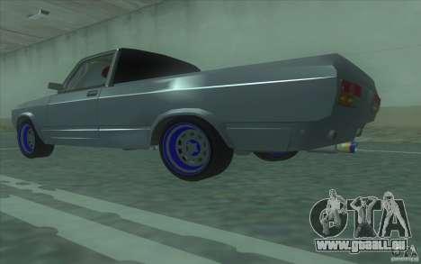 Lada 2107 Street Racing pour GTA San Andreas laissé vue