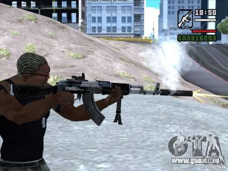 AK-103 von WARFACE für GTA San Andreas her Screenshot