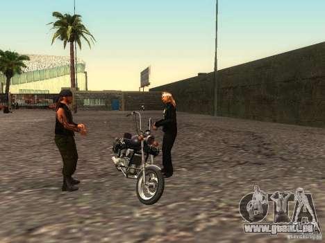 Die realistische Schule Biker v1. 0 für GTA San Andreas achten Screenshot