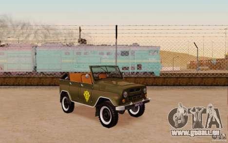 UAZ 469 Gundam Zeon Reich Propaganda Auto für GTA San Andreas