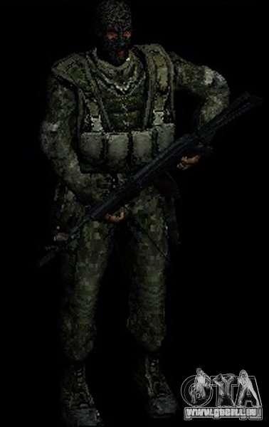 Stalker-Shadow of Chernobyl SWAT OGSE für GTA San Andreas her Screenshot