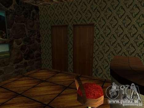 Nouvelle barre de textures UFO pour GTA San Andreas troisième écran