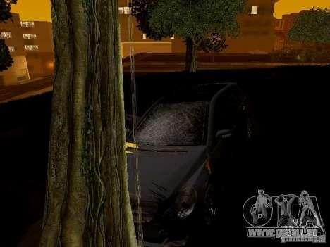 Mercedes Benz R300 pour GTA San Andreas vue intérieure