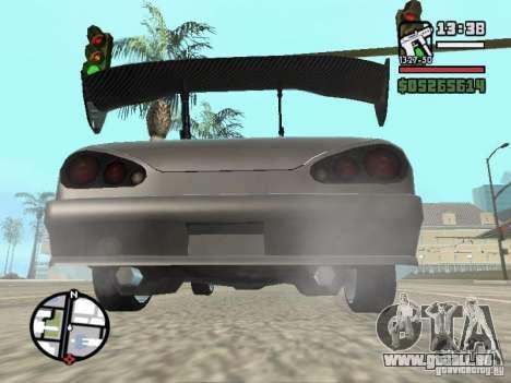 Elegy First Update By reNz pour GTA San Andreas sur la vue arrière gauche