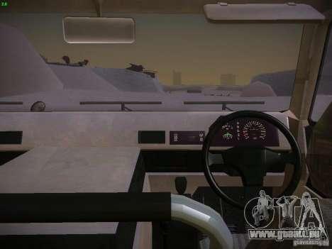 Toyota Mega Cruiser für GTA San Andreas rechten Ansicht