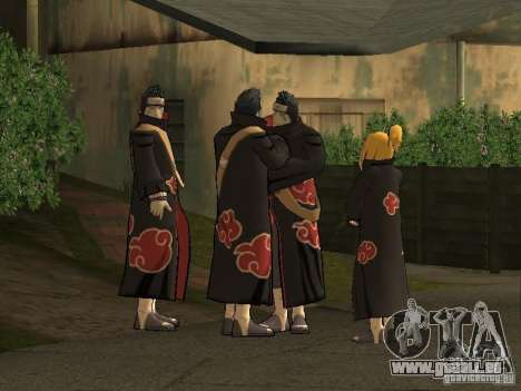 The Akatsuki gang für GTA San Andreas