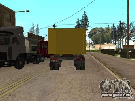 BMC pour GTA San Andreas sur la vue arrière gauche