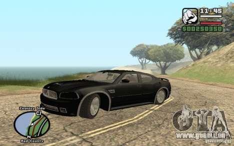 Dodge Charger SRT8 für GTA San Andreas Innenansicht