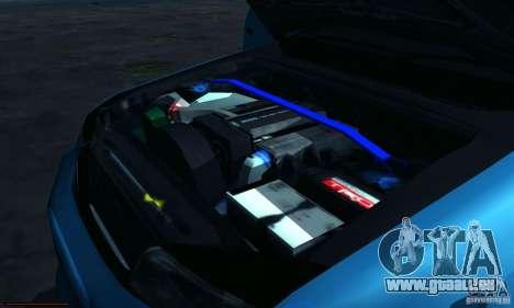 Toyota Mark II Tuning für GTA San Andreas Innenansicht