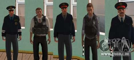 Pack de peau de l'intérieur russe pour GTA San Andreas