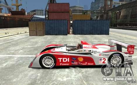 Audi R10 TDI für GTA 4 linke Ansicht
