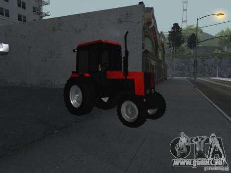 Tracteur MTF 1025 pour GTA San Andreas vue de droite