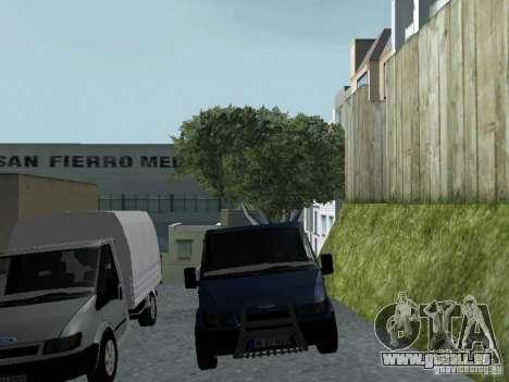 Ford Transit 2005 für GTA San Andreas Innenansicht