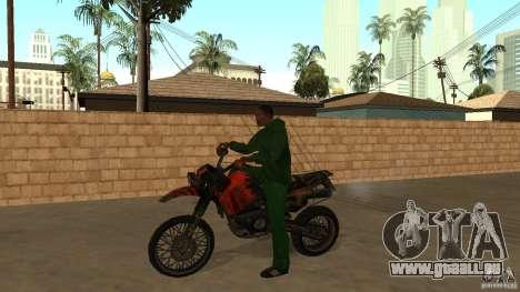 Motorrad Mirabal für GTA San Andreas
