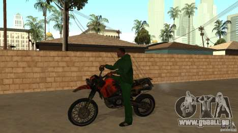 Moto Mirabal pour GTA San Andreas