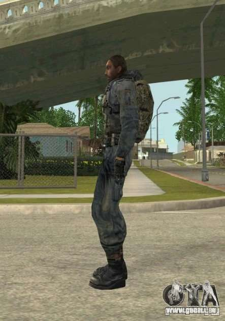 Regroupement de mercenaires d'un harceleur pour GTA San Andreas deuxième écran