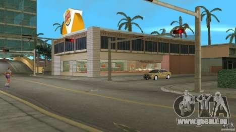 Burgerking-MOD GTA Vice City pour la deuxième capture d'écran