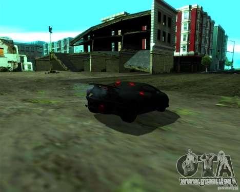 Lamborghini Sesto Elemento 2011 für GTA San Andreas zurück linke Ansicht