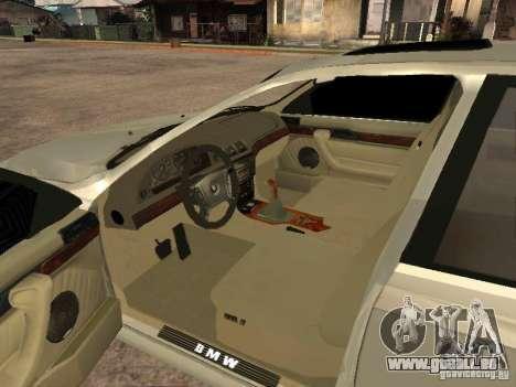 BMW 540i für GTA San Andreas zurück linke Ansicht