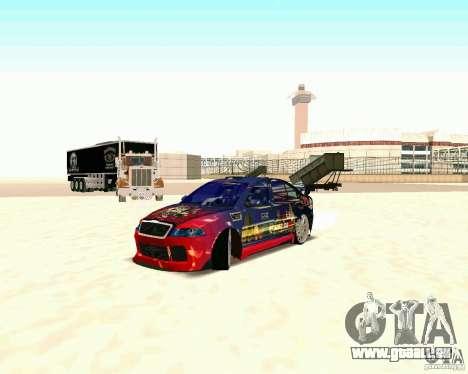 Skoda Octavia III Tuning für GTA San Andreas zurück linke Ansicht