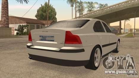 Volvo S60R für GTA San Andreas Seitenansicht