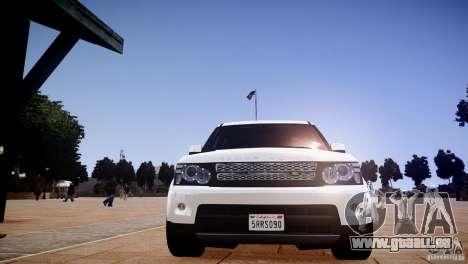 Range Rover Sport Supercharged v1.0 2010 für GTA 4 Seitenansicht