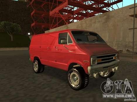 Dodge Tradesman 7z für GTA San Andreas