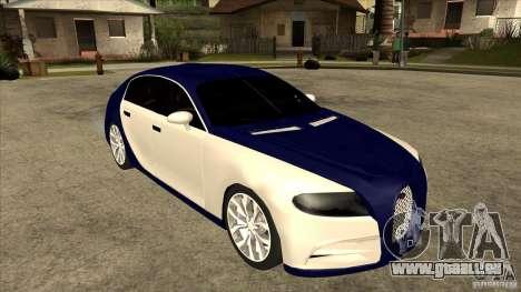 Bugatti Galibier 16c für GTA San Andreas rechten Ansicht