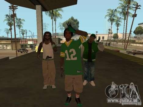 Neue Skins Grove für GTA San Andreas zweiten Screenshot