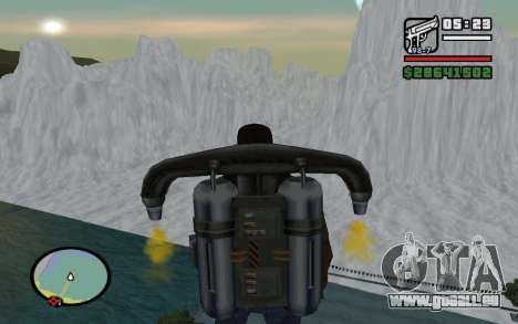 Mountain map für GTA San Andreas her Screenshot