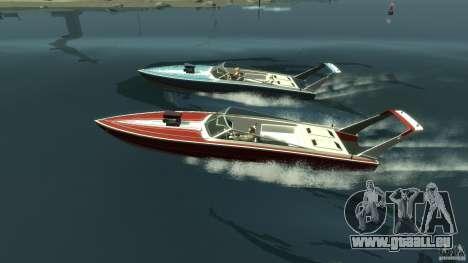 Tuned Jetmax pour GTA 4 est une gauche