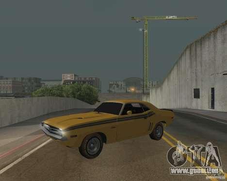 Dodge Chellenger V2.0 für GTA San Andreas