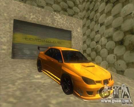 Subaru Impreza STi tuned für GTA San Andreas
