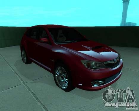 Subaru Impreza WRX STI Stock pour GTA San Andreas