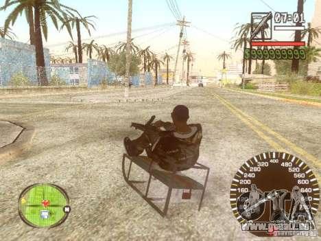 Sani für GTA San Andreas Unteransicht