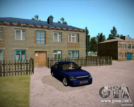 Lada Priora Chelsea für GTA San Andreas Innenansicht