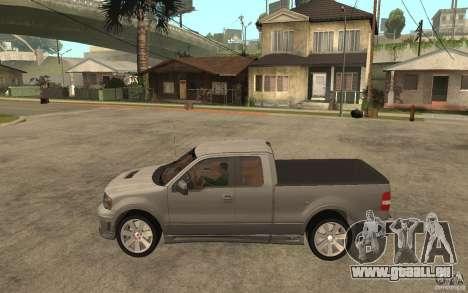 Saleen S331 Super Cab pour GTA San Andreas laissé vue
