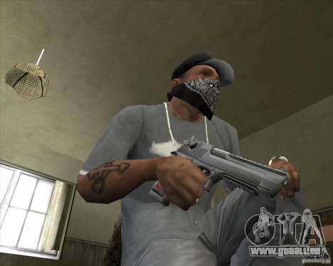 New Desert Eagle für GTA San Andreas dritten Screenshot