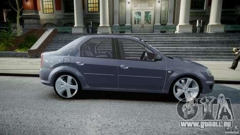 Renault Logan pour GTA 4 est une vue de l'intérieur