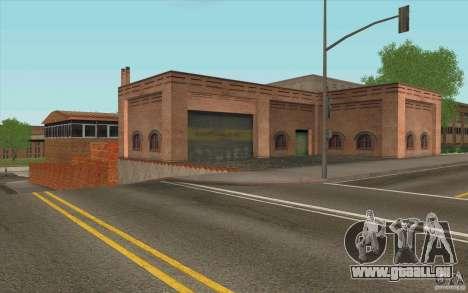 Caserne de pompiers pour GTA San Andreas quatrième écran