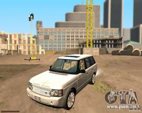 Land Rover Range Rover Supercharged 2008 für GTA San Andreas