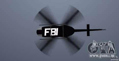 FBI Maverick für GTA Vice City Innenansicht