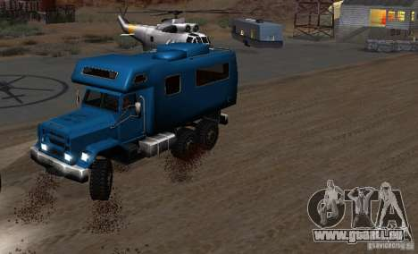 Journey 6x6 Enterable V1 für GTA San Andreas rechten Ansicht