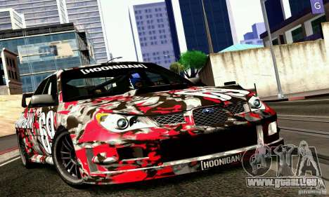 Subaru Impreza WRX STi Gymkhana pour GTA San Andreas