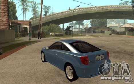 Toyota Celica SS2 für GTA San Andreas zurück linke Ansicht