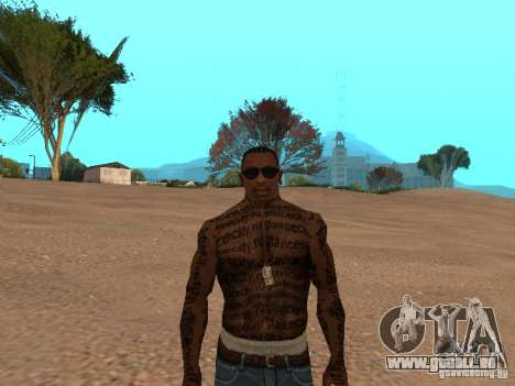 Tattoo Mod by shama123 für GTA San Andreas dritten Screenshot