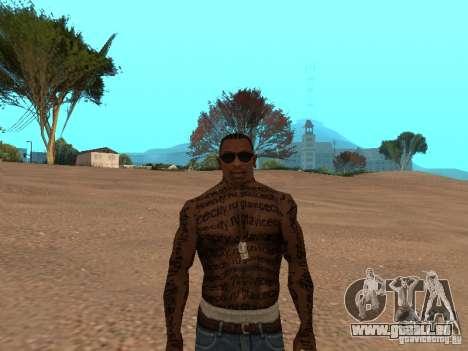 Tattoo Mod by shama123 für GTA San Andreas dritten Screenshot