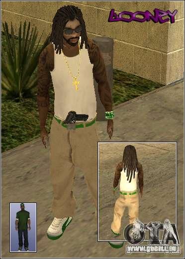 Skin Pack Getto pour GTA San Andreas neuvième écran