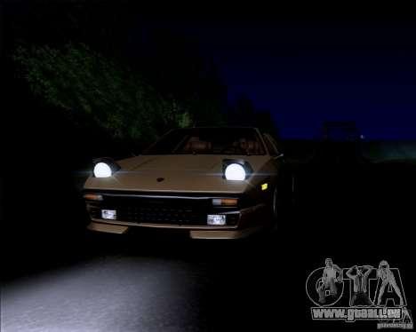 Lamborghini Jalpa 3.5 1986 für GTA San Andreas Rückansicht