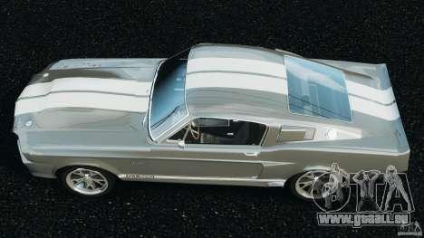 Shelby GT 500 Eleanor v2.0 pour GTA 4 est un droit